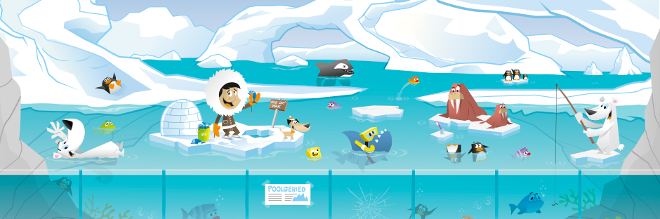 KIDSZOO illustratie freelance illustrator Andre snoei illustraties voor commerciele illustraties voor alle denkbare uitingen